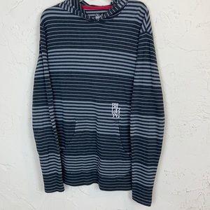 Billabong Men's Striped Thermal Hoodie L